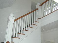 attic stair railing