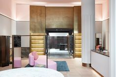 Rodolphe Parente and Benjamin Liatoud give a multi-brand concept store a multi-tone treatment - News - Frameweb
