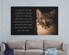 Cat lover gift, Cat gift for men, cat gifts for girls, pet memorial quote, cat gifts for women, gift for cat lover, pet memorial for cat  PurritoCat