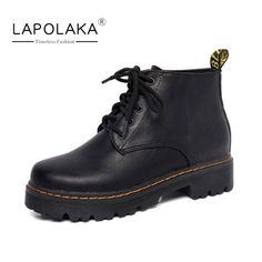 $28.20 (Buy here: https://alitems.com/g/1e8d114494ebda23ff8b16525dc3e8/?i=5&ulp=https%3A%2F%2Fwww.aliexpress.com%2Fitem%2FLapoLaka-New-Arrivals-Fashion-Lace-Up-Woman-Boots-Vintage-Round-Toe-Platform-Women-Shoes-Autumn-Square%2F32719645957.html ) LapoLaka New Arrivals Fashion Lace Up Woman Boots Vintage Round Toe Platform Women Shoes Autumn Square Heels Ankle Boots for just $28.20