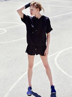 Alala Oversized Hoodie Tee at Free People Clothing Boutique