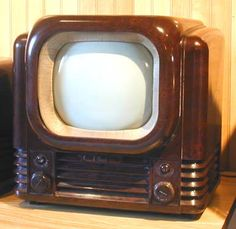 Bush TV12 and TV22. My family's first TV set on which I saw the coronation of Queen Elizabeth the Second and the Stanley Matthews Cup Final of 1953. Like everything took place in a snowstorm.