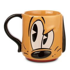 Pluto Dimensional Mug by Disney - Found on HeartThis.com @HeartThis | See item http://www.heartthis.com/product/447708674190327843?cid=pinterest