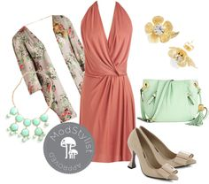 """""""Could It Be True? Dress"""" by modcloth ❤ liked on Polyvore"""