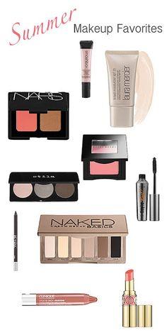 summer makeup favorites {Laura Mercier tinted moisturizer is my favorite summer cover-up! Lasts forever too }