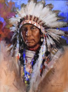"""Chief Mountain Horse"" by Harley Brown"