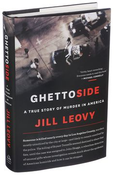 "Excellent review in NY Times.  The Los Angeles Times reporter Jill Leovy's ""Ghettoside: A True Story of Murder in America"" follows the case of a gang-related killing."