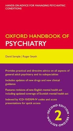 18 best pa school images on pinterest physician assistant pa oxford handbook of psychiatry oxford medical handbooks https fandeluxe Image collections