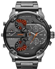 DIESEL ® 'Mr. Daddy 2.0' Chronograph Bracelet Watch, 57mm