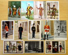 12 Vintage Postcards all Swiss Guard & Guardia Noble The Vatican Roma Rome Italy | eBay