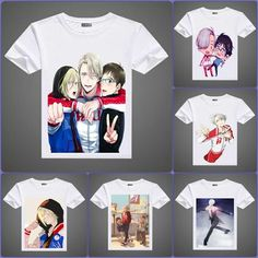 Yuri on Ice A3 Printed T-Shirts in 6 Designs #Yuri #on #ice #shirt #tshirt #t-shirt #merchandise www.animeprinthouse.com