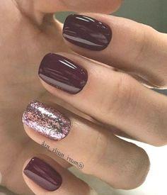 18 Πρωτότυπες ιδέες για σχέδια στα νύχια τον χειμώνα!   ediva.gr Square Nail Designs, Colorful Nail Designs, Nail Art Designs, Colourful Nail, Nails Design, Short Nail Manicure, Gel Nail Art, Nail Polish, Acrylic Nails