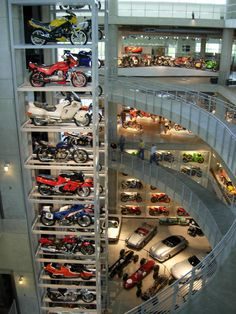 Barber Motorsports Museum outside Birmingham, AL is one of my favorite places!!!!
