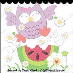 Owl Antics 1 Clip Art Single: http://digiscrapkits.com/digiscraps/index.php?main_page=product_info&cPath=885&products_id=8557 #TrinaClark #DigiScrapKits
