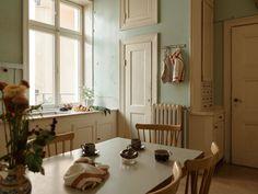 Historiska hem Historic Homes, Old Houses, Entryway, Interior Design, Modern, Kitchen, Inspiration, Furniture, Home Decor