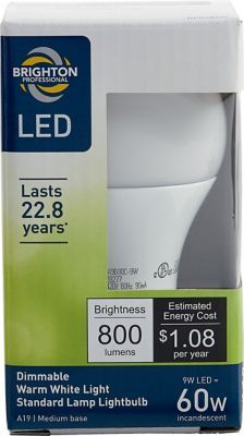 #Staples: Brighton Professional A19 LED Dimmable Lightbulb $3.99 @ Staples w/FS #LavaHot www.lavahotdeals....