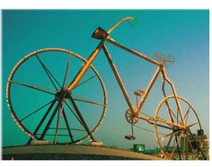 Bicycle roundabout, Jeddah, Saudi Arabia ***I drove by this thing every day for two weeks***