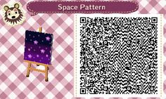 """drvincentmorrow: """"SCREAMS I FINALLY GOT THEM ALL TOGETHER WHOOH ok here's all my space patterns. Feel free to check out my other codes if you like the ones above c: """""""
