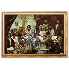 African American Wall Art And Decor novica african painting (5,640 php) ❤ liked on polyvore featuring