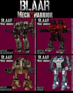 mechwarrior 4 mechs   Mechwarrior 4: Mektek Mechs Paper Crafts