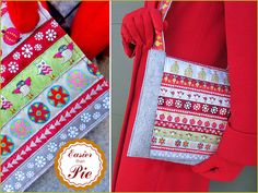 You Can Do It! S4H EZ-2-Do Felt Purse with Ribbon Accents | Sew4Home- Renaissance Ribbons Free Pattern/Tutorial