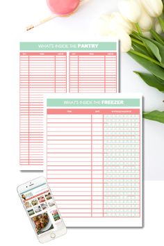 {FREE PRINTABLE} Pantry and Freezer Inventory - Clean Eating with kids - Finance tips, saving money, budgeting planner Pantry Inventory, Diy Cleaning Products, Cleaning Diy, Commercial Kitchen, Budget Planner, Life Organization, Simple Living, Family Life, Clean House