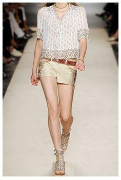 Isabel Marant Heels Model Show 2013-014