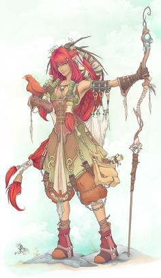 druid by ~vitruve on deviantART