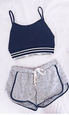 Sporty Outfits – Page 7966433537 – Lady Dress Designs Cute Lazy Outfits, Sporty Outfits, Teen Fashion Outfits, Outfits For Teens, Summer Outfits, Girl Outfits, Sporty Fashion, Fitness Fashion, Fashion Fashion