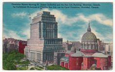 Postcards - Canada # 257 - St. James Cathedral, Montreal, Quebec