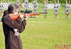 Rimfire competitor: The CMP's Rimfire Sporter course of Fire is 60-shots fired at a distance of 50 and 25 yards. It is a great competition for beginners but also challenging for seasoned shooters.