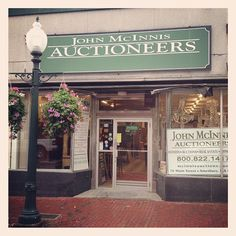 One of my favorite auction houses in New England. John McInnis Auctioneers in Amesbury, Massachusetts.