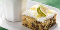 Feijoa date cake