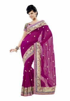 #Fabdealdotcom #Indian #Designer #Faux #Georgette #Magenta #Embroidered #Saree Fabdeal, http://www.amazon.co.uk/dp/B00IRB9S8E/ref=cm_sw_r_pi_dp_Xirrtb1SF7J30