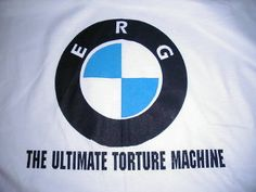 Erg (rowing machine) - The Ultimate Torture Machine - NO KIDDING! Erg Rowing, Rowing Crew, Bmw Logo, Motivation, Sweet, Sports, Candy, Hs Sports, Sport