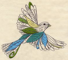 Lofty Nature | Urban Threads: Unique and Awesome Embroidery Designs