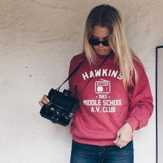 Stranger Things Hawkins Middle School AV Club Unisex Sweatshirt - Totally Good Time
