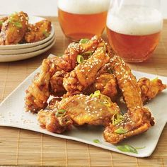 Twice-Fried Chicken Wings recipe