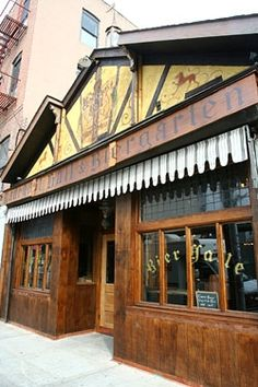 Radegast Hall & Biergarten  Beer Garden in Brooklyn. I would like to get there sometime.