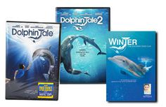 Dolphin Tale, Dolphin Tale 2, and Winter - The Dolphin That Can DVD Trio Set