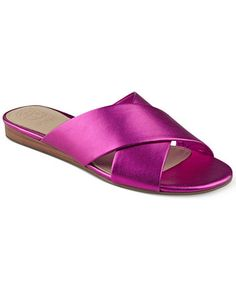 a3991f479bbd10 Slides by GUESS. Lisa Menaster · Flat Sandals