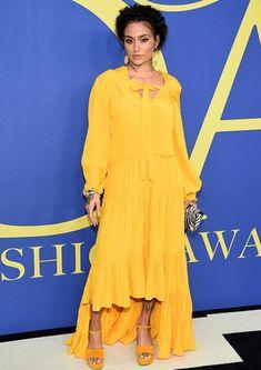 Kehlani outfits at the CFDA Awards - June 2018
