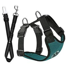SlowTon Dog Car Harness Plus Connector Strap, Multifunction Adjustable Vest Harness Double Breathable Mesh Fabric with Car Vehicle Safety Seat Belt .(Red, X-Small) - Dog Store Dog Seat Belt, Dog Car Seats, Seat Belts, Nylons, Sphynx, Road Trip With Dog, Dog Safety, Dog Store, Dog Wear