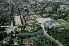 jardines de aranjuez vista aerea - Buscar con Google