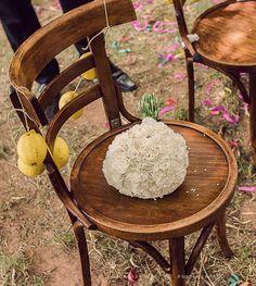 #silla #novios #decoracion con #limones