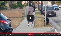 O rapaz estava tirando foto das policas e do nada os policiais resolveu prender ele, e o cachorro como gostava muito do…