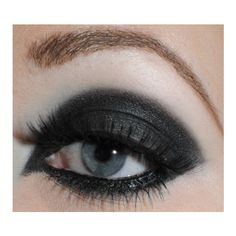 Tron Legacy Inspired Gem #makeup Make me Up! ❤ liked on Polyvore featuring beauty products, makeup, face makeup and eyes