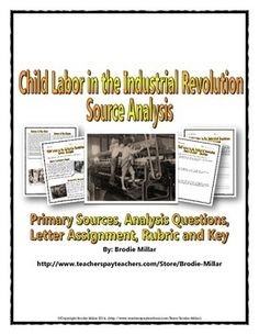 Child Labor During The Industrial Revolution History Paper Help?