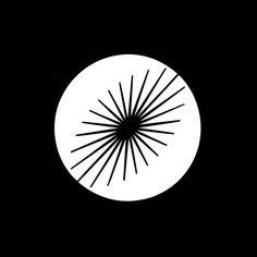 Daiko Electric Co. by Ikko Tanaka. Circle Logo Design, Circle Logos, Graphic Design, Print Design, Ikko Tanaka, Logo Archive, Cloud Drawing, Photoshop Logo, Circular Logo