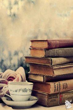 Boeken met thee